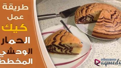 Zebra Cake, كيكة سهلة, كيكة الحمار الوحشي, كيكة الزيبرا, كيك الشوكولاتة, مطبخ, كب كيك, كيكة سهلة بالقهوة, طريقة عمل كيك اسفنجي بدون بيض,