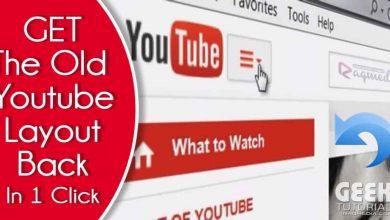 Classic-YouTube-Layout