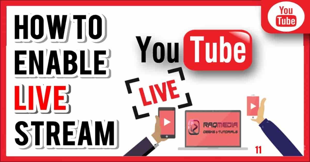 أسهل طريقة للقيام ببث مباشر على اليوتيوب