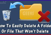How To Delete Files That Can not Be Deleted