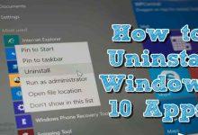uninstall default apps, windows 10 tutorial, windows 10, tutorial windows 10, windows 10 for beginners, Uninstaller, uninstallation fails, اهم مميزات ويندوز 10, remove apps, ويندوز 10 شرح, حل مشكلة تطبيقات ويندوز 10 و ويندوز 8 و 8.1, شرح مفصل لطريقة