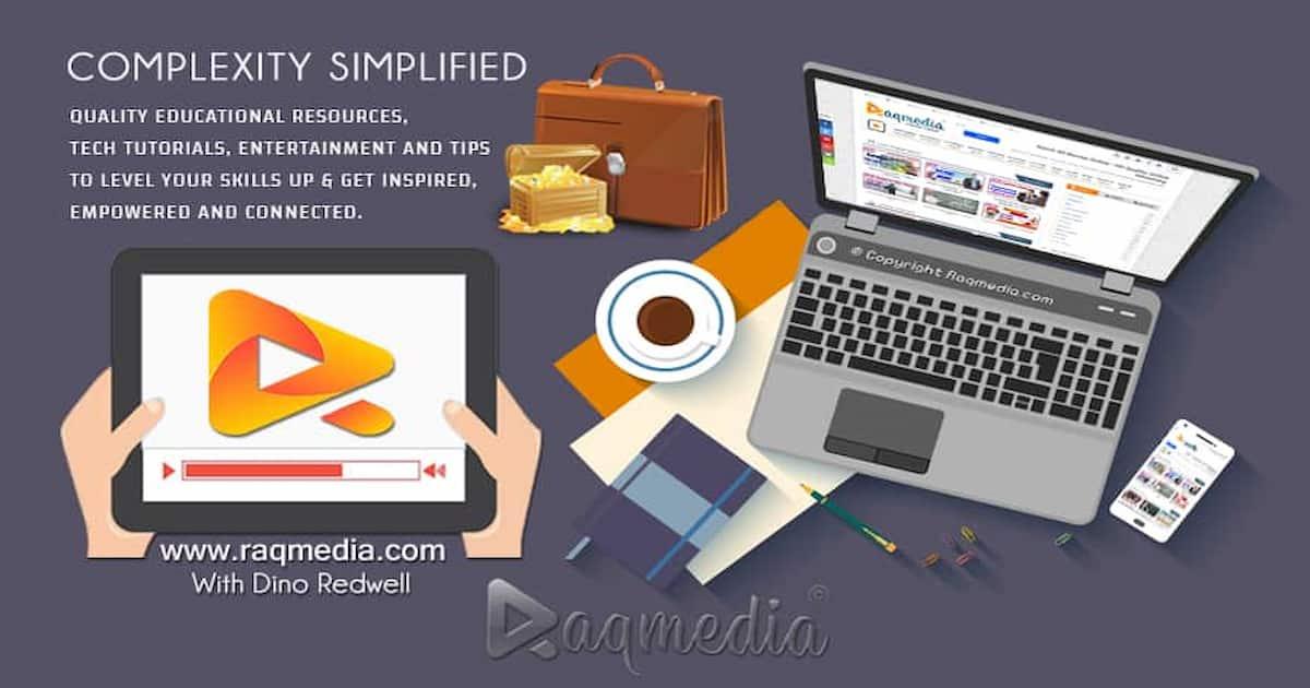 Raqmedia-homepage