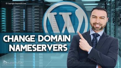 change domain nameservers
